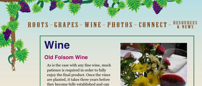 A New Look for OldFolsomVineyard.com